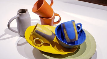Colorful Handmade Ceramics