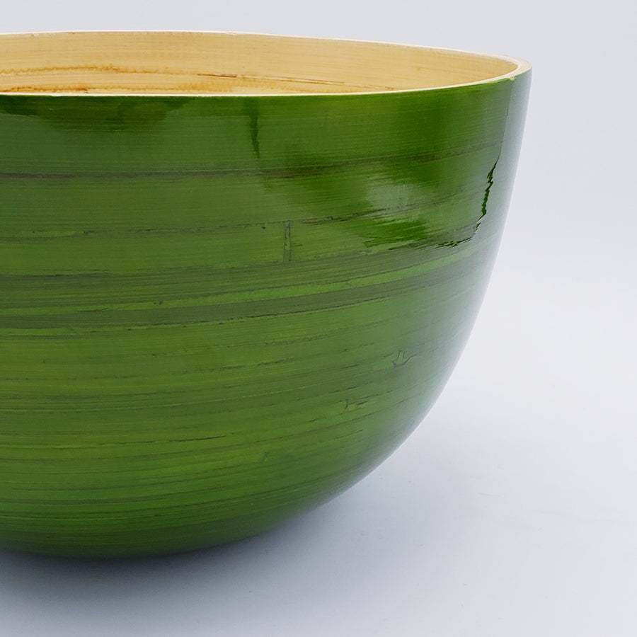 XL Tall Bamboo Bowl