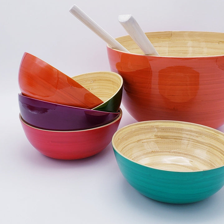 Medium Shallow Bamboo Bowl