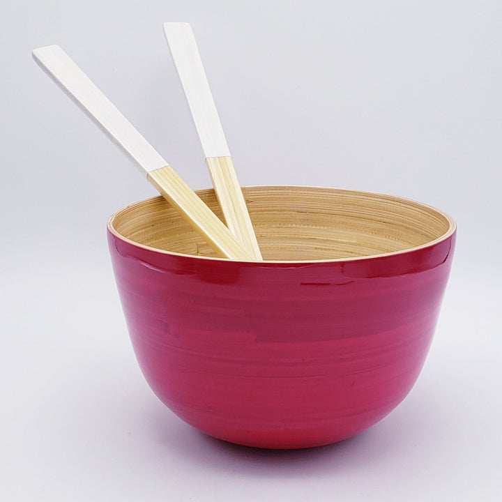 Medium Tall Bamboo Bowl