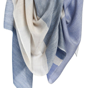 Color Block Cashmere Scarf