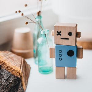 Baby Robot Wood Toy