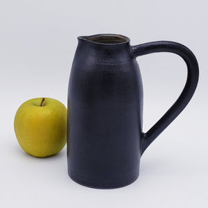 Ceramic Pitcher with Handle - 7""