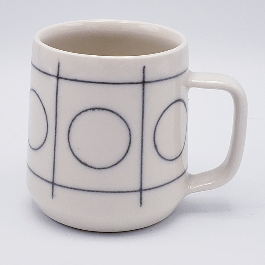 Porcelain Mugs - Linear