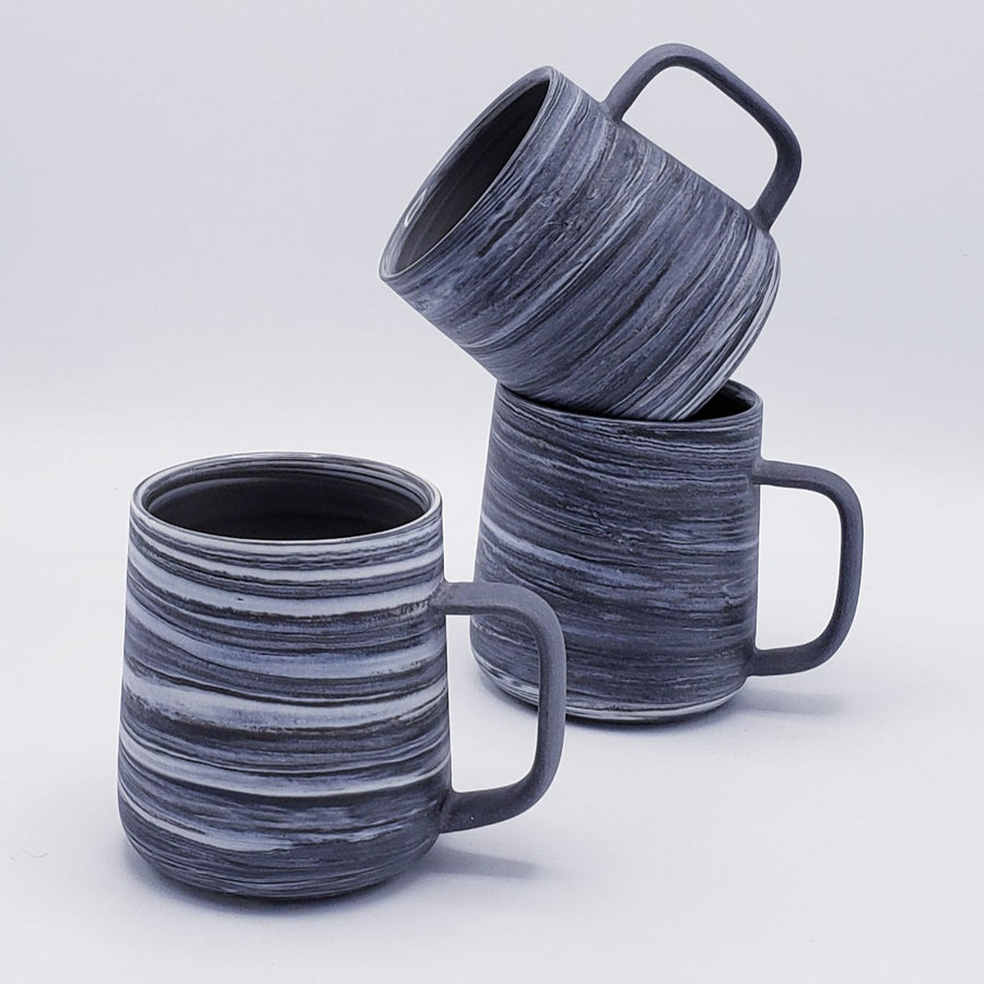 Porcelain Coffee Mugs Midnight Noir