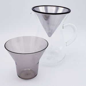 Glass Pour-Over Coffee Carafe