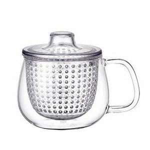 Single-Serve Glass Tea Mug & Strainer