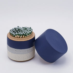 Ceramic Match Striker with Lid