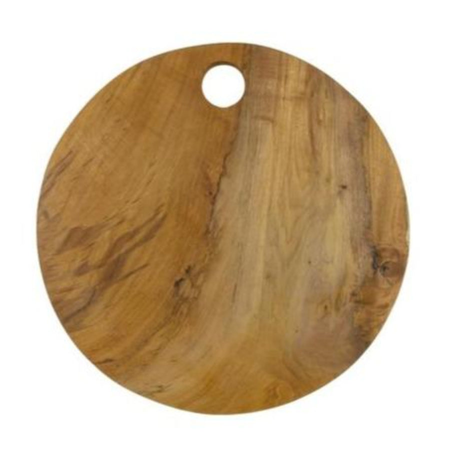 Circular Edge Teak Cutting Board