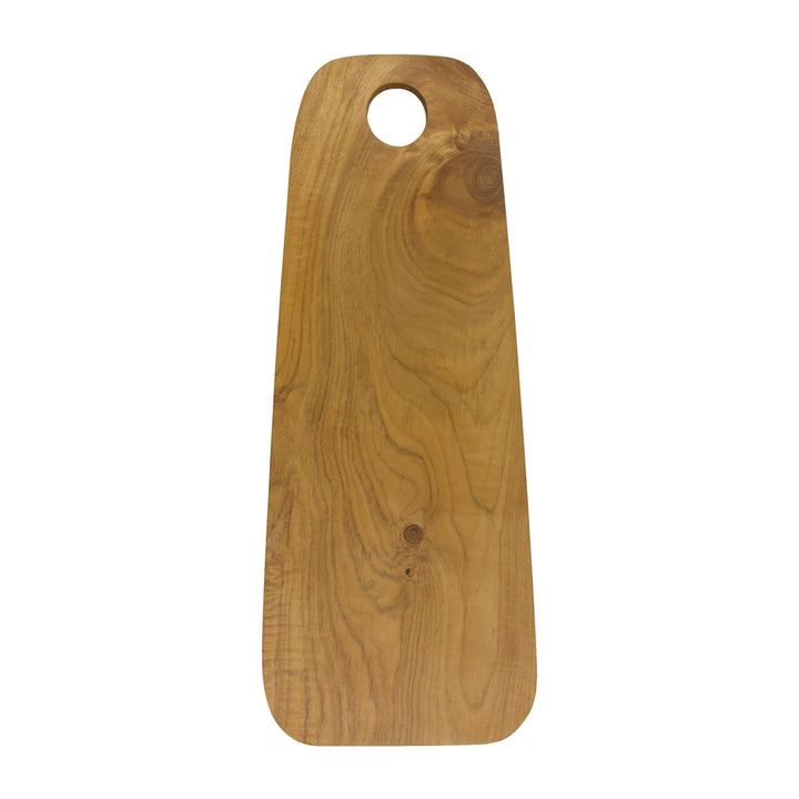 Round Edge Teak Cutting Board