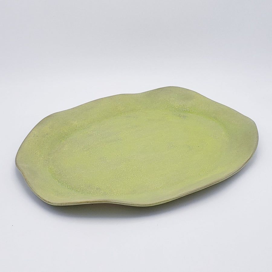 Organic Oval Serving Platter - Large