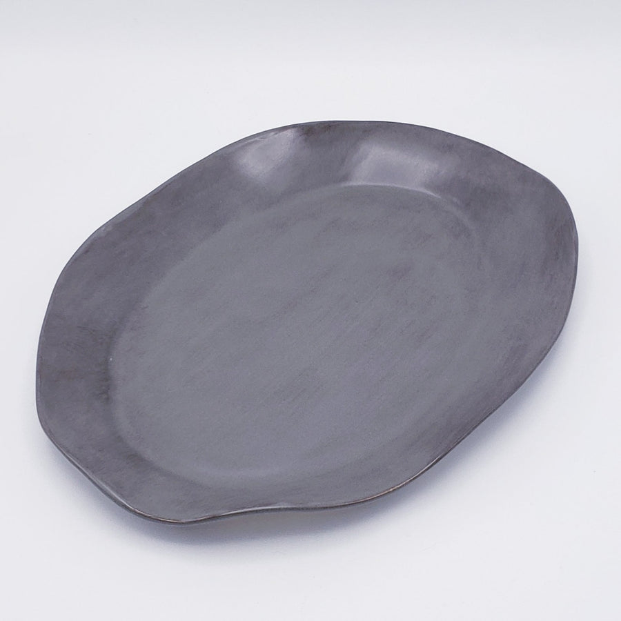 Organic Oval Serving Platter - Medium