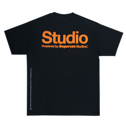 POWERED BY STUDIO TEE (BLACK)