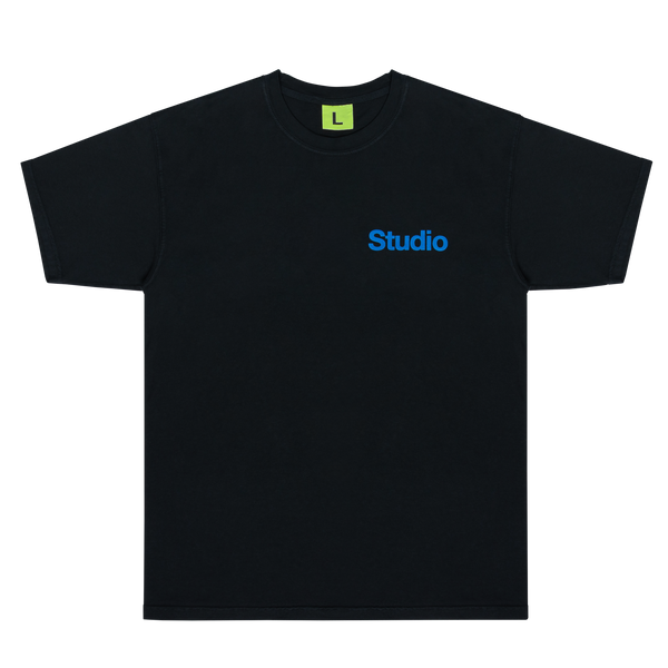 GRID STUDIO TEE (BLACK)
