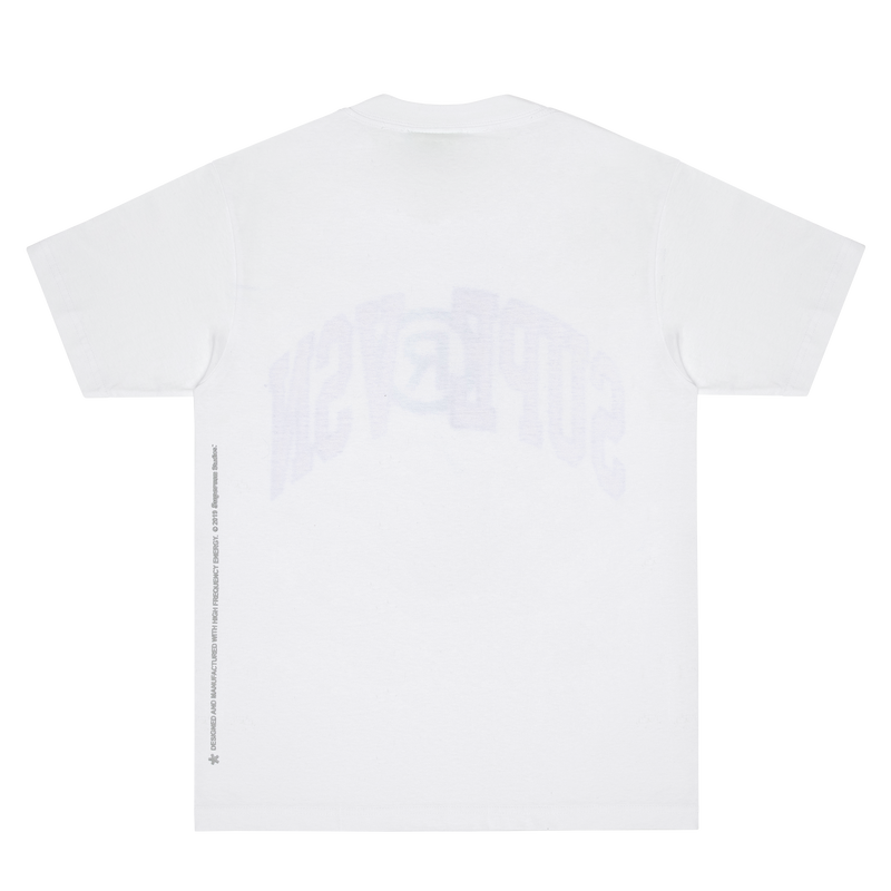 COLLEGIATE TEE (WHITE)