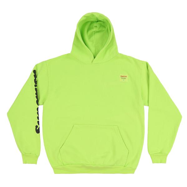 FRONT OF LIME GREEN HOODIE