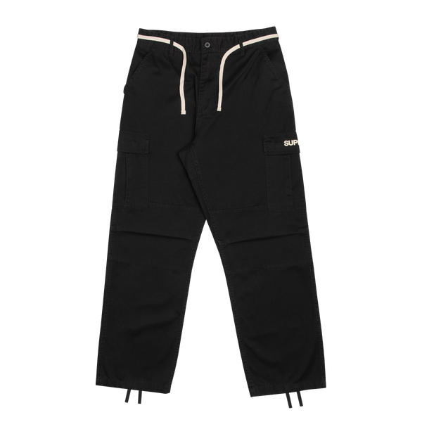STUDIO FIELD CARGO PANTS (BLACK)