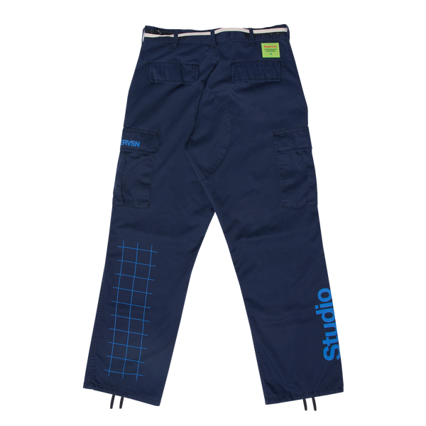 STUDIO FIELD CARGO PANTS (NAVY)