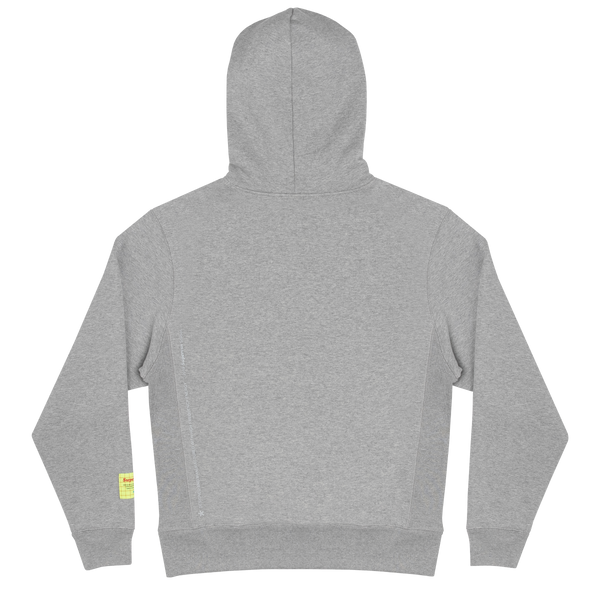 COLLEGIATE HOODIE (HEATHER GREY)