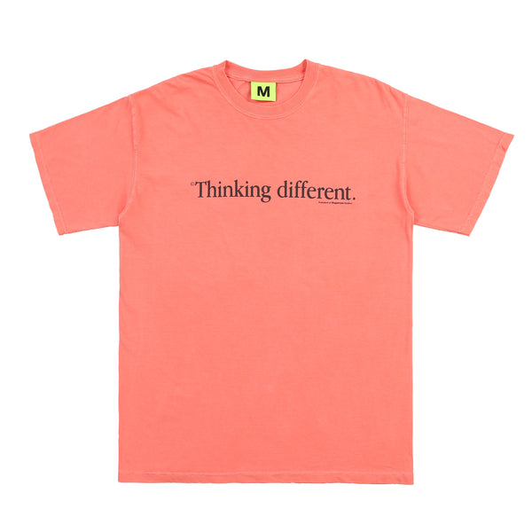 THINKING DIFFERENT TEE (SALMON)