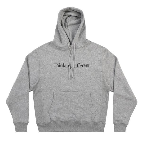 THINKING DIFFERENT HOODIE (HEATHER GREY)