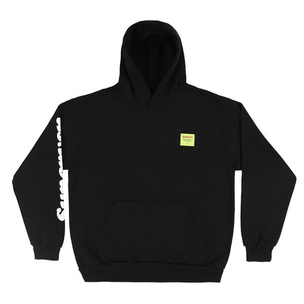 ON SET STUDIO HOODIE (BLACK)