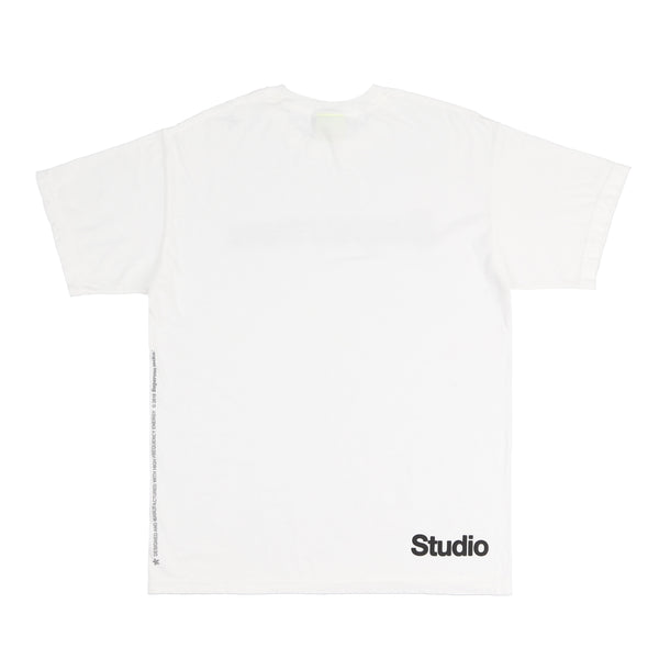 ENERGY LOGO TEE (WHITE)