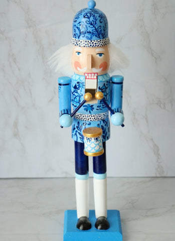 Chinoiserie Chic Nutcracker 14""