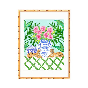 Chinoiserie Pattern Play, Teal