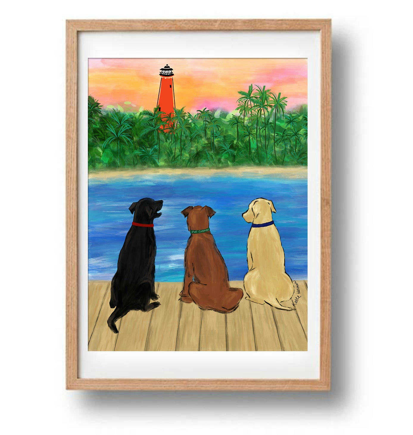 The Pet Cottage  Dog Print