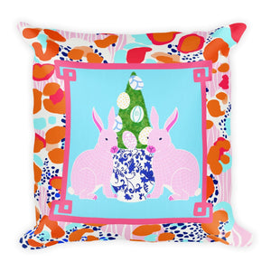 20x20 Easter artisan pillow cover