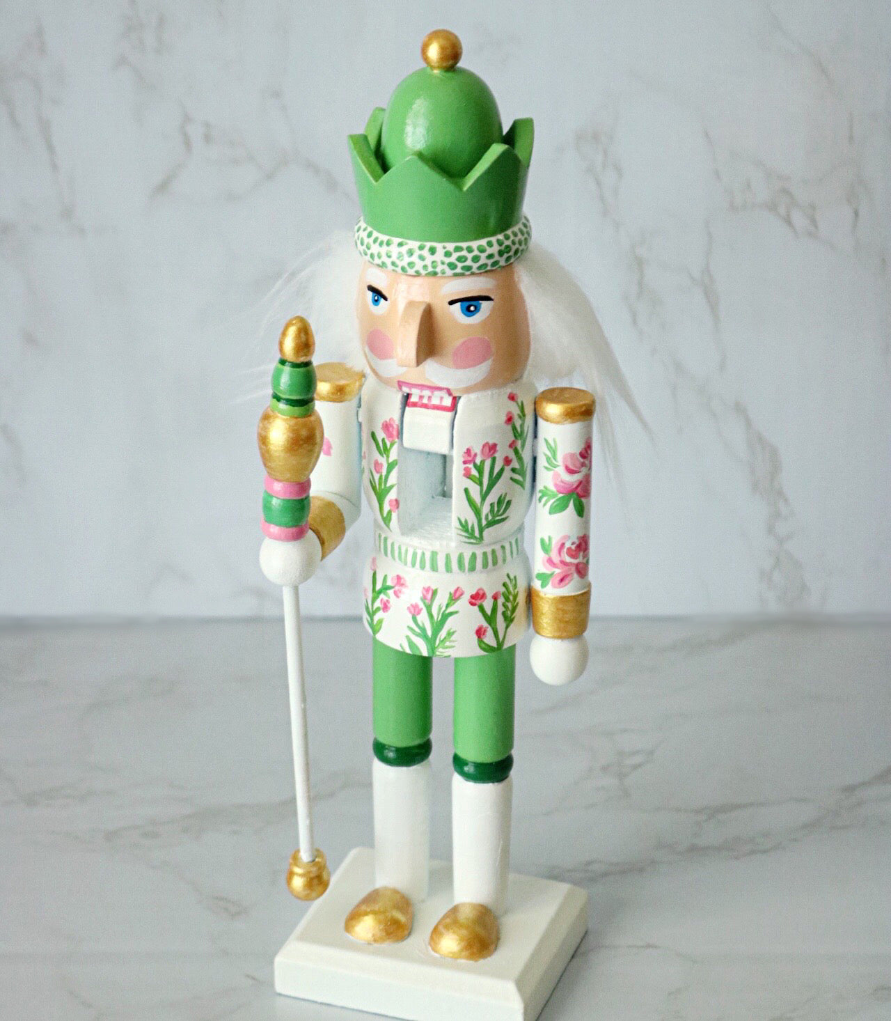 Garden Party Nutcracker 10""