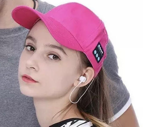Bluetooth hat w/earbuds /controllers& mic