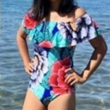 Flora off the shoulder (1 piece) swimsuit