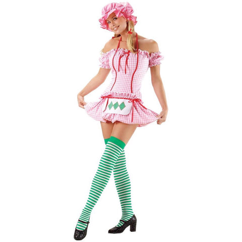 🍓Strawberry shortcake girl cosplay/Halloween (4 piece)
