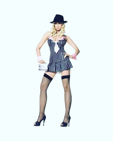 👩🏼‍💼Mafia princess cosplay/Halloween costume (3 pc)