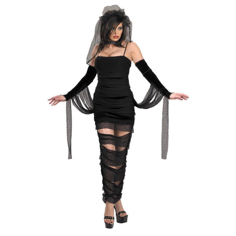 🕷Gothic mummy bride cosplay/ Halloween costume (5 pieces)