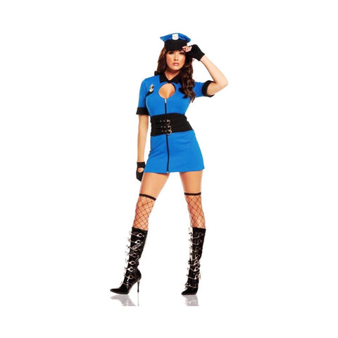 👮🏻‍♀️Naughty police officer cosplay/Halloween costume (5 pieces)