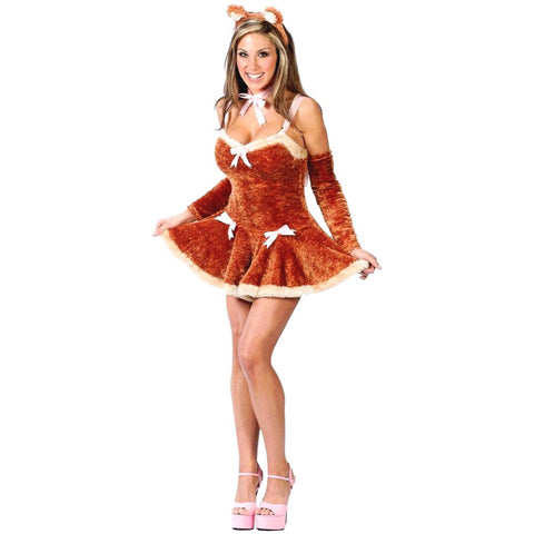 🐻Cute teddy cosplay/ Halloween costume (5 pc)