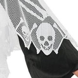 💀Skeleton poncho Halloween costume (1 pc)
