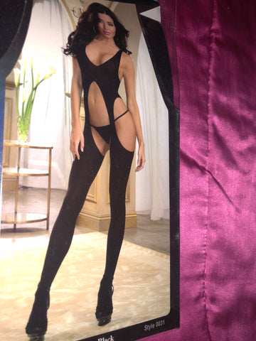 🔙🔚Full body peekaboo stocking (dancewear)