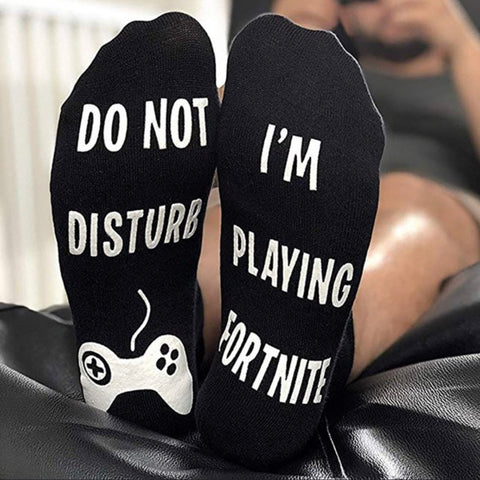 🎮 do not disturb/Fortnite socks