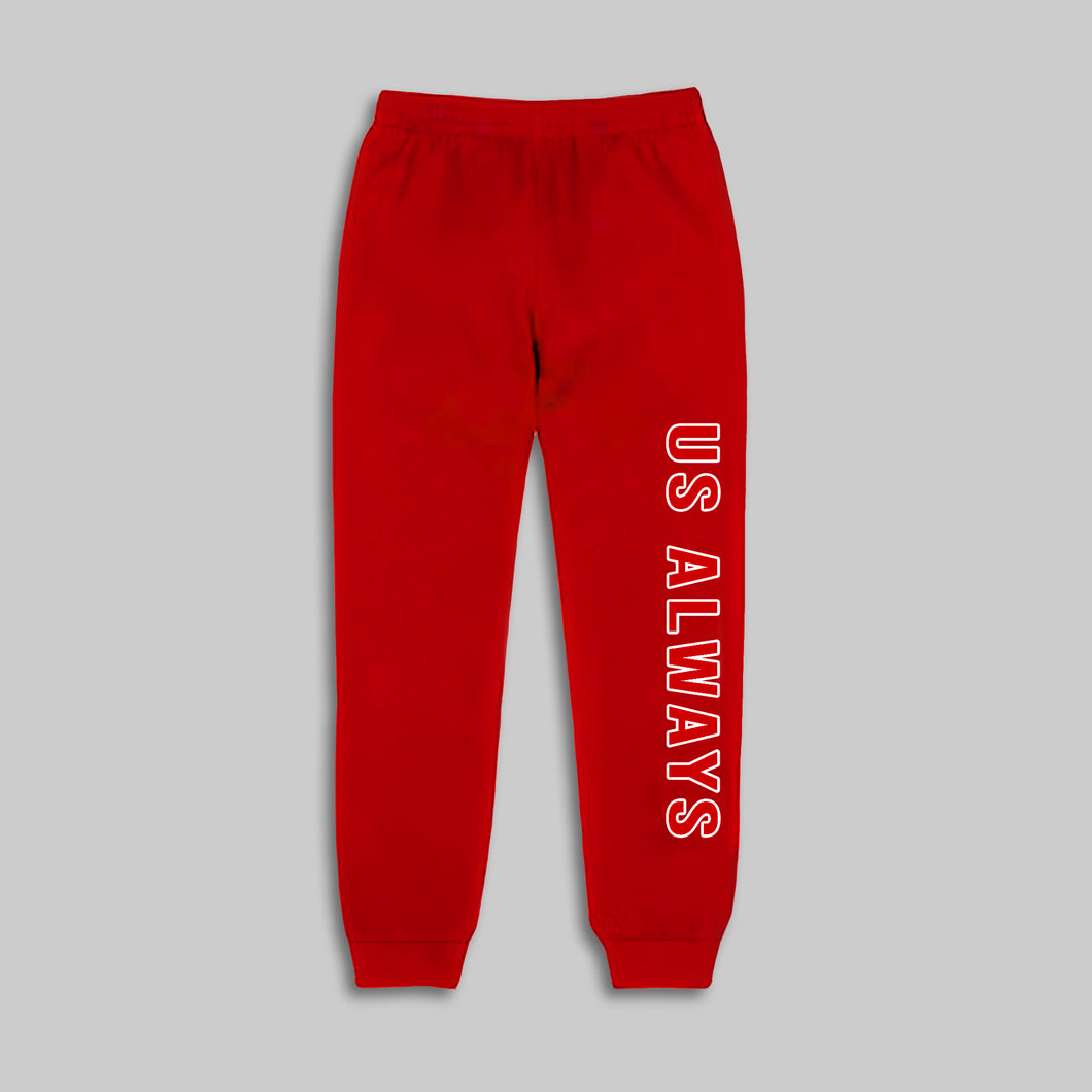 Us Always Red Joggers