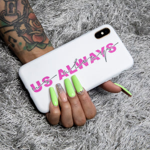 Neon White Phone Case