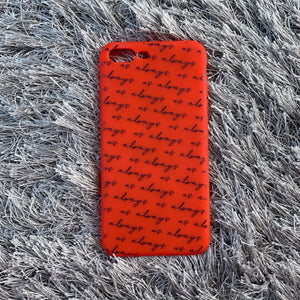 RED SLANTED CASE