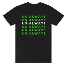 Load image into Gallery viewer, Neon Green Black Tee