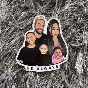 Family 2nd Edition Sticker