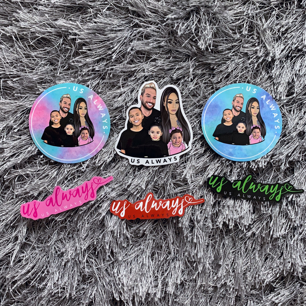 Family Collection Sticker Set