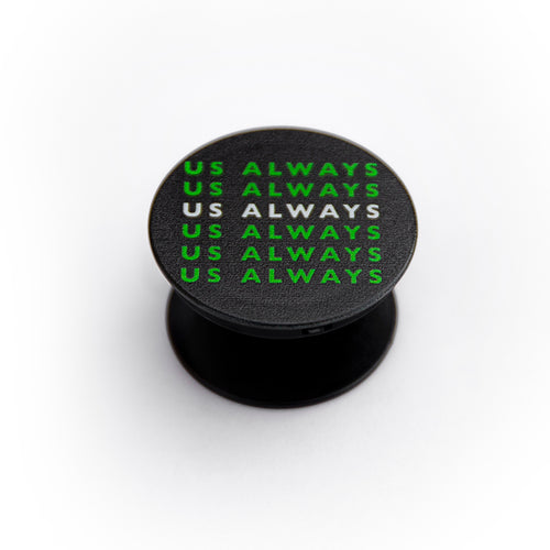 Green Stacked Logo Phone Holder