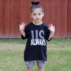 Black Us Always Youth Tee